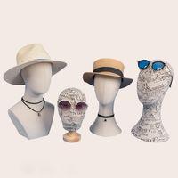 Yeni Varış Moda Manken Başkanı Farklı Stil Kafa Manken Çin Yapılan