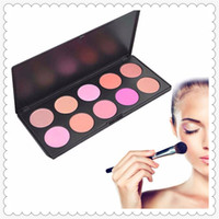 High- quality 10 Color SET Makeup Blush Face Blusher Powder P...
