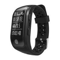 Altimetro Meter GPS Smart bracciale orologi cardiofrequenzimetro Smartwatch Fitness Tracker IP68 impermeabile braccialetti per iPhone Android Watch