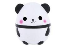 New Squishy Jumbo Panda Bonito Kawaii Creme Perfumado Squishies Muito Lento Rising Crianças Brinquedos Presente Da Boneca Coleção Fun Stress Relief Toy Hop Adereços