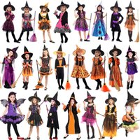 Halloween Witch Cosplay Costume Sorceress Cosplay Kids Girls...