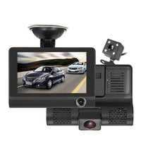 Mini 4. 0' ' IPS screen car dvr with three cameras 1...