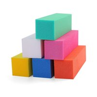 beancurd cube Manicure Lima per unghie Setback Grinding and trimming Strumento per manicure Strumento per unghie Grind a manicure lucidatura T4H0432