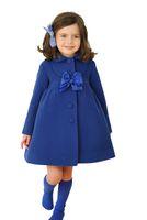 가을 겨울 여자 어린이를위한 패션 겨울 자 켓 재킷 코트 아기 소녀 겉옷 캐시미어 오버 코트 겉옷