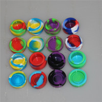 Wholesale 5 ml Non- stick Silicone Jar Dab Wax Containers For...
