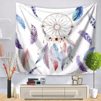 Wall Hanging Tapestries Bohemian Door Curtain Multicolor Dre...