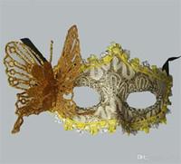 Lady Cadılar Bayramı Kelebek Yüz Maks Masquerade Kostüm Kadınlar Üç Boyutlu Yarım Fales Maske Moda Sıcak Satış 2 4gl Ww