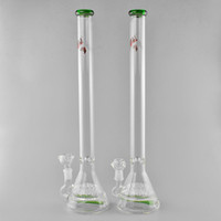 JM Flow Glass Bongs Mega 20 Sprinkler Green Tube Recycler Glass Pipes 19