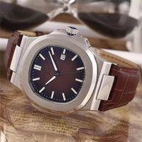 Adam için yüksek kalite lüks İzle paslanmaz saatler otomatik çelik kol saati 014 ücretsiz kargo