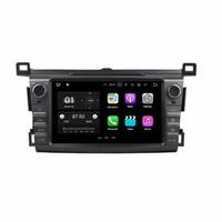 "Android 7.1 Quad Core 8 ""Lecteur DVD Autoradio DVD Autoradio Unité principale multimédia pour Toyota RAV4 2013 2014 2015 avec Bluetooth WIFI Mirror-link"