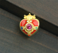 Sailor Moon 20th Anniversary Pendant Charm Bead 925 Silver +...