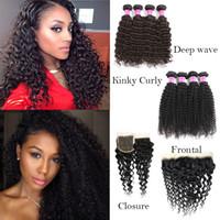 brazilian virgin hair Deep Wave grade 8a human hair bundles ...