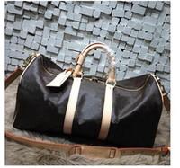 Heißer Verkauf 55 cm Marke Designer Unisex Handtaschen Reisetaschen Umhängetasche Totes Taschen Reisetaschen Koffer Gepäck