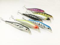 Lot15 FISHING LURES CRANKBAIT HOOKS BAIT 5.6g 8.5cm