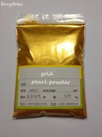 50g hot sale Flash gold powder pearl powder pigment pearl si...