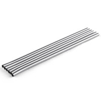 Durable Stainless Steel Straight Drinking Straw Straws Metal...