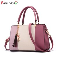 FGJLLOGJGSO brand small lady patchwork totes casual fashion ...