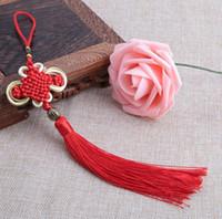 Accessoires de bricolage style chinois ménage décorer cadeaux bord fait main pure Bianfu votre noeud chinois pendentif livraison gratuite FD10