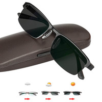 Ultraleicht Übergang Sonne Photochrome Lesebrille hochwertigen Legierung Rahmen im Freien Presbyopie Brille Übergang Sonnenbrille