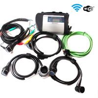 Alta qualità MB Star C4 SD Connect Star Diagnosis Xentry DAS System Compact 4 Multiplexer Per Mercedes per Benz strumento diagnostico