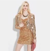 Bahar Kadın Uzun Kollu Kısa Kırpılmış Ceket Parlak Pullu Bolero Shrug Hırka Ceket Altın Siyah Gümüş Retro Blazer Parti Giymek