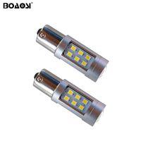Nenhum erro P21W BA15S 1156 Canbus 21 Lâmpadas LED 2835 SMD Traseira luz de sinalização de marcha atrás luz do carro Luzes Sourcing