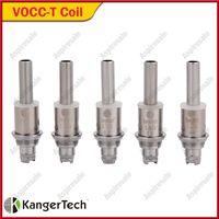 Orijinal KangerTech VOCC-T Bobin değiştirme Atomizer Kafa 0.8 / 1.0 / 1.2 / 1.5 / 1.8ohm uygun Kanger Aerotank EVOD Cam tankı
