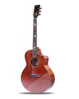 2018 Hot Sale 41' ' Wood Guitar JF custome Cut- away ...