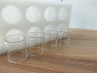 Pyrex Tubo de Vidro Tampas de Substituição para Kanger Topbox Mini Starter Kit Toptank Mini Tanque frete grátis