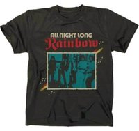 2018 New Summer T- shirts RAINBOW - All Night Long - T SHIRT ...