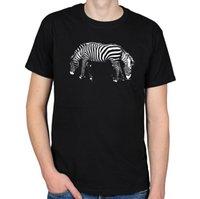 ZEBRA ILUSIÓN ÓPTICA VIDA SILVESTRE ANIMALES SAFARI NATURALEZA ÁFRICA MENS CAMISETA  CAMISETA Caliente Nuevo 2018 Verano Moda Camisetas 8c6a1de8616