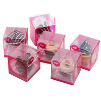 Cereja Morango Creme Cosméticos Queque Lip Gloss Bálsamo 6 Saborosos Glosss Bálsamo De Natal Segredo Santa Lipgloss Batom Bolo De Chocolate