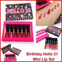 New Birthday Hello 21 lip gloss Makeup Matte Lipstick Limite...