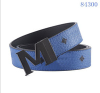 New men M belts luxury brand designer buckle belt male Gold ...