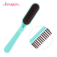 Kinepin Pocket Folding Hair Brush Comb Portable Collapsible ...
