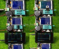 트랜지스터을 Freeshipping 테스터 ESR 미터 주파수 PWM 구형파 신호 발생기 LCR 인덕터 저항 MOS 용량 / PNP / NPN