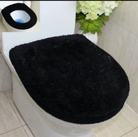 brand new black Toilet Seat Cover Bathroom Warmer Washable P...