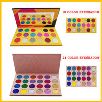 new cleof 24 color eyeshadow BOX OF CRAYONS 18 Colors Cosmet...