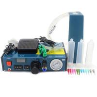 Industrie Equipement Distributeur de colle liquide électronique Machine de colle Machine de précision automatique Distributeur d'affichage numérique 983A