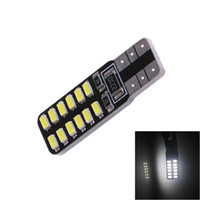 T10 W5W 168 3014 LED 24 194 SMD Auto Car Side Lights Wedge Bombilla de Aparcamiento 12V Lámpara de Lectura Car-Styling Blanco
