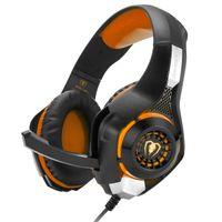 Beexcellent Gaming Headset GM-1 с микрофоном для нового Xbox 1 PS4 ПК мобильный телефон ноутбуки компьютер звук шумоподавления игры наушники