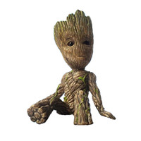 6CM Sitting Groot Figure Toys Mini Tree Man Action Figures M...