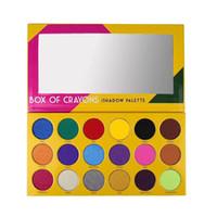 새로운 메이크업 아이 섀도우 BOX OF CRAYONS 18 색 팔레트 팔레트 DHL 무료 배송