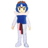 2018 venda quente guerreiro personagem de desenho animado traje da mascote personalizado produtos feitos por encomenda frete grátis