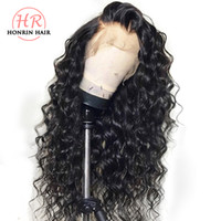 Honrin Hair 13x6 Deep Part Lace Front Wig Curly Pre Plucked ...