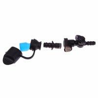 30pcs / lot terminal de pêche s'attaquer sécurité clips de carpe de pêche à la carpe outils accessoires équipement avec broches queue tubes en caoutchouc