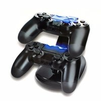 Dual Controllers Charger Charging Dock Stand Station For Son...