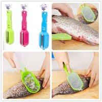 vendita all'ingrosso strumento di pulizia del pesce multifunzionale uccisione raschiando bilance con dispositivo coltello cucina di casa accessori da cucina