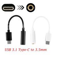 AUX Cavo USB Tipo C a 3.5 mm AUX Adattatore USB 3.1 Maschio A Audio Jack Femmina