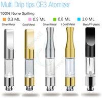 New G2 BUD Touch 510 CE3 Cartridges Metal plastic drip tips ...